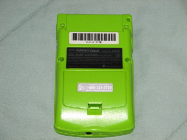 My Game Boy Color Disassembly Pictures Cyrozap S Tech