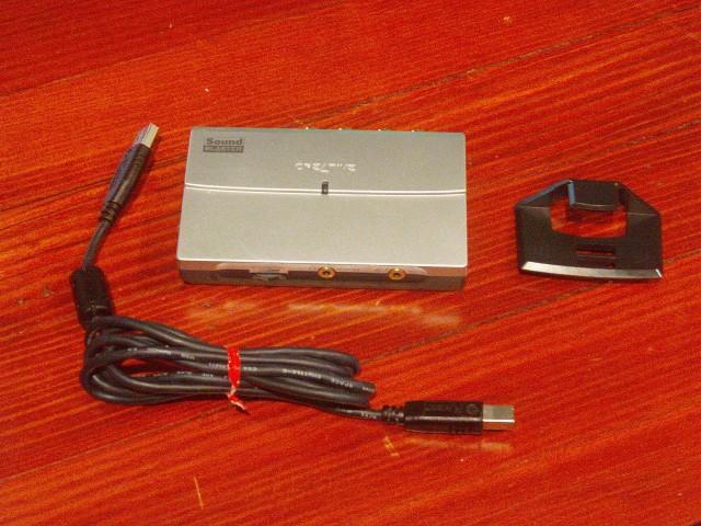 External sound card