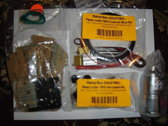 The MK5 parts kit!